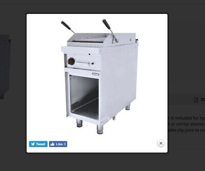 Commercial Gas Chargrill Nayati NGCB 6-90 Stainless Steel Catering