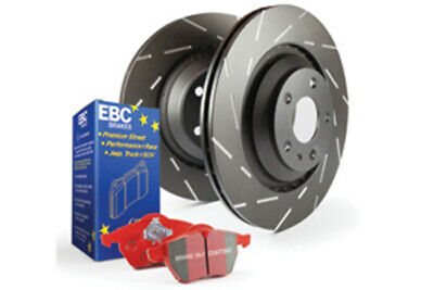 EBC Brakes Redstuff Pad and USR Slotted Disc Kit [PD07KR109]