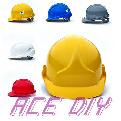 SITE SAFETY HELMET | JSP Builders Hard Hat Construction Work Safety Head  Protect