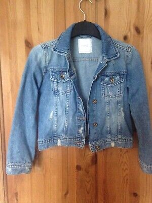 Next Girls' Denim Jacket Age 9 Years