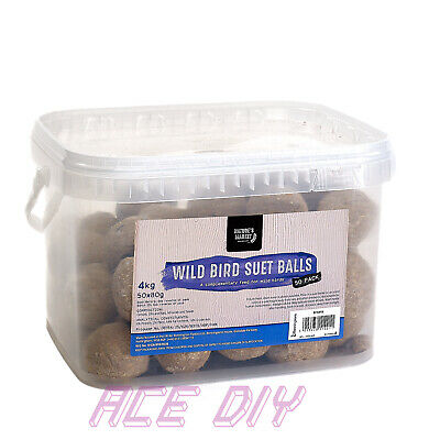 Fat Balls Suet Balls Wild Garden Birds Bird Energy Food Feed Feeder Resealable
