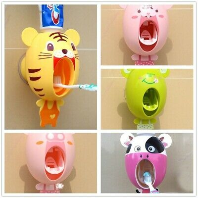 Device Cartoon Toothpaste Squeezer Automatic Toothbrush Holder Extrusion