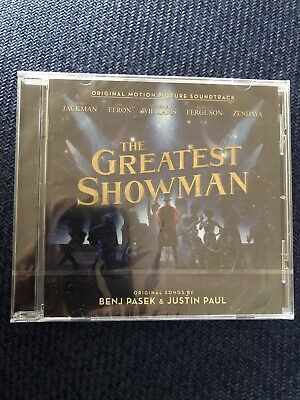 the greatest showman soundtrack cd