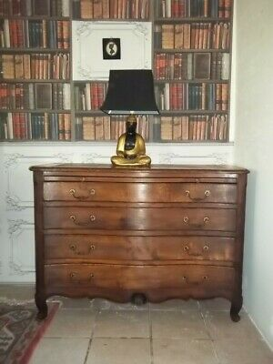 French Antique Beautiful  Quality Oak Louis Xv Style Chest Of Drawers