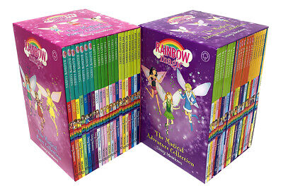 Rainbow Magic Series Jewel Party Weather Colour Fairies 42 Books Collection Set