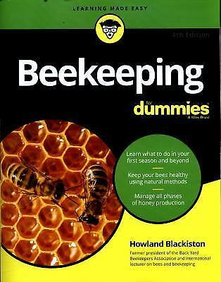 Beekeeping for Dummies, 4th Ed. by Howland Blackiston (English) Paperback Book