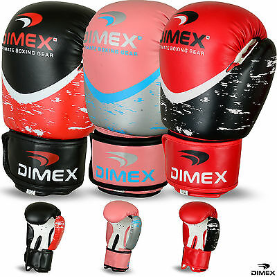 Boxing Gloves Sparring Glove Punch Bag Professional Training MMA Mitts 10oz-16oz