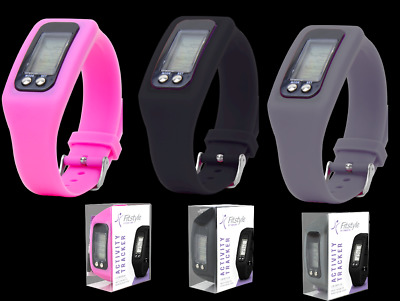 Activity Tracker Watch Fitness Wrist Band Calorie Step Counter Pedometer