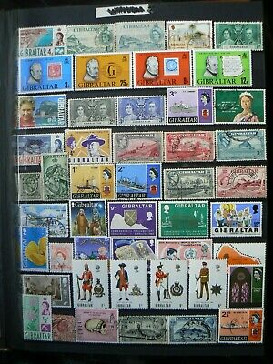 Collection Of Gibraltar Stamps