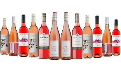 AU Best Seller Mixed Rosé Wine 5-Star Winery 12 x 750ml FREE SHIPPING