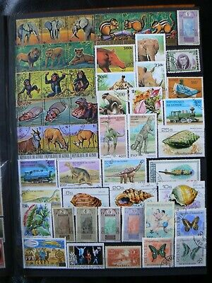 Collection Of Guinea Guinee Stamps