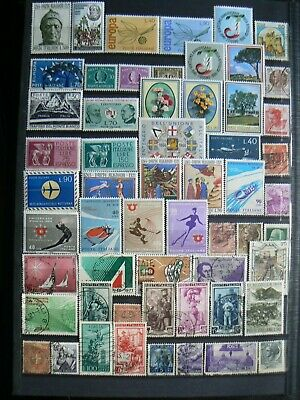 Collection Of Italy Italian Italia Stamps