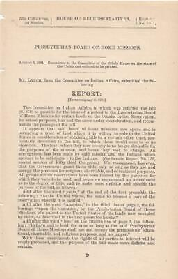 House of Representatives: Presbyterian Board of Home Missions - August 3, 1894