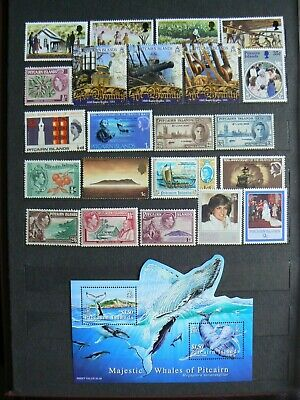 Collection Of Pitcairn Islands Stamps