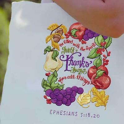 Illustrated Scripture Designs for Machine Embroidery - On a USB
