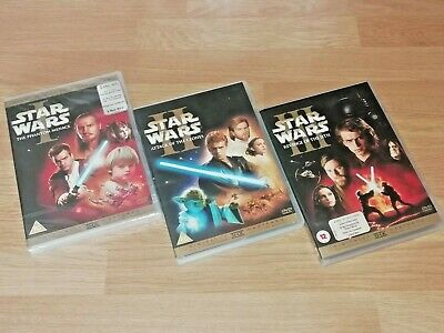 Star Wars: I, II and III - Original Prequel Trilogy DVD Collection (6 DVD Set)