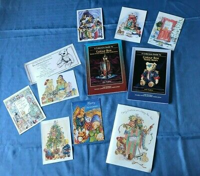 Two Colour Box Collectors Guides, Bears & Home sweet home. & Club greeting cards