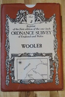 Reprint of 1-inch Ordnance Survey Old Series map sheet 2 of Wooler