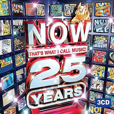 Now That's What I Call Music - 25 Years (3 X CD ' Various Artists)