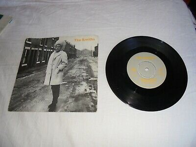 The Smiths - HEAVEN KNOWS I'M MISERABLE NOW 1984 UK 45 ROUGH TRADE RT156