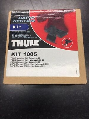 Thule Fitting Kit 1005 for Ford Mondeo 4 & 5 Door Saloon/Est/Hatchback 1993-2000