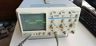 Kenwood CS4025 20 Mhz dual channel oscilloscope