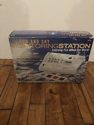 Radio Shack Sun Sky Monitoring Station Home School Science Project 28-281