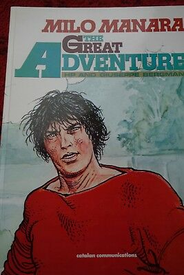 Milo Manara - The Great Adventure - Softback - 1988 - For Adults Only