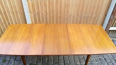 Vintage McIntosh Dunvegan Teak Extending Table