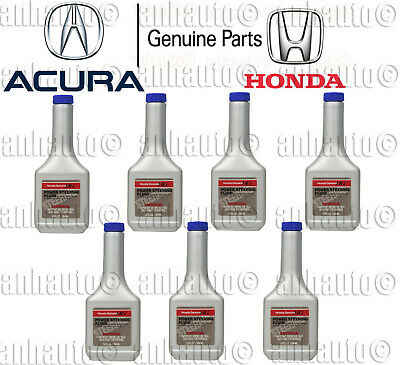 7x-12oz Bottles (7-Bottles)   Genuine Honda Power Steering Fluid