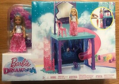 Barbie Dreamtopia Doll and Vanity, NEW In Box