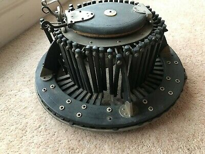 Allie Maillard Conformateur, hat mold set & hat initialling system - Very Rare