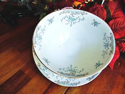 Used Imperial Gravy Boat W/attached Under Plate Seville 5303 W Dalton Japan