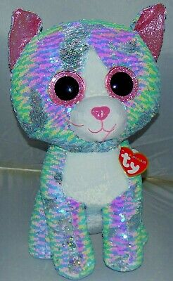 2019 Ty FLIPPABLES WHIMSY the Cat Gift Show Exclusive 17