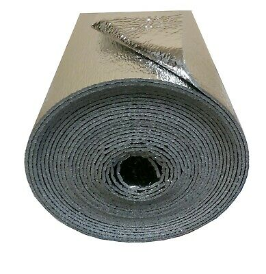 Double Foil Reflective Thermal Insulation for Car Van Floor Wall Roof Boat