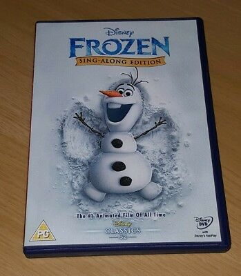 Frozen  ( Disney DVD ) Sing-Along Edition Kids Movie