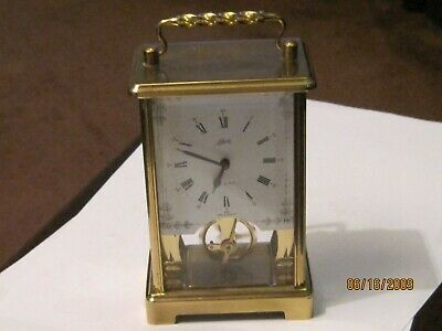 Carriage Clock, German Made 8 Day Movement