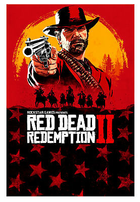 Red Dead Redemption 2 - Standard(Microsoft Xbox One, 2018) 1$ start Free ship!!!