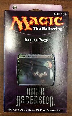 MTG MONSTROUS SURPRISE Factory Sealed Dark Ascension Intro Pack ... be460b12c496