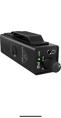 NEW Behringer Powerplay P2 Ultra-Compact In-Ear Monitor Amplifier Headphone Amp