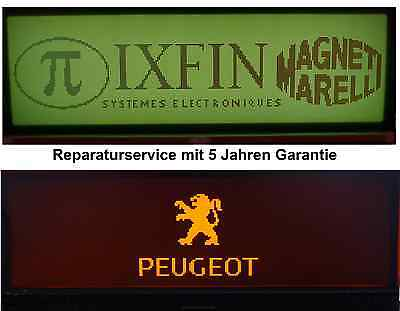 Fiat Ulysse Display defekt, Reparatur, Bordcomputer 5 Jahre Garantie