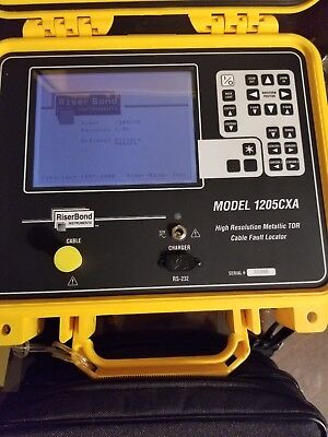 Riser Bond 1205CXA High Resoluton Metallic TDR Waveview Software Radiodetection