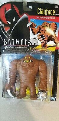 """Batman the Animated Series """"Clayface"""" Kenner Action Figure 1993"""