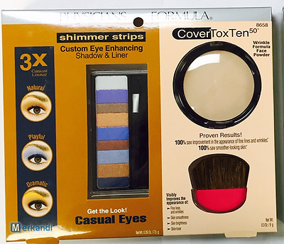 Physicians Formula Shimmer Strips Eye Enhancing Shadow, Liner + CoverToxTen 8658