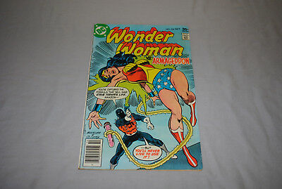 1977 DC Comic Book Wonder Woman vs. Armageddon No.236