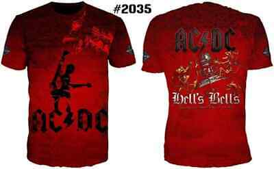 d317ae1b799 3D AC DC Bell Skull Mens t-shirts acdc bell I Got My Bell Gonna Take ...