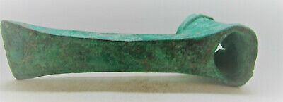 Finest Circa 1200-800Bce Ancient Luristan Bronze Axe Head Large & Impressive