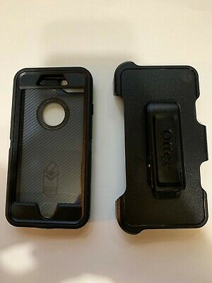 Otterbox Defender Case W/Holster Clip for Apple iPhone 7 & 8 Black