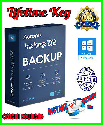 Acronis True Image 2019- multidevices Lifetime✔️✔️ - Instant  Delivery (30s) 📩