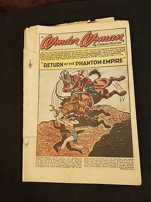 Wonder Woman #49 Sept Oct 1951 DC National Comics 1.0 Fair FULL Phil Rizzuto AD
